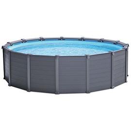 Intex Graphite Panel Pool Set 478 x 124 cm inkl. Sandfilteranlage (28382)