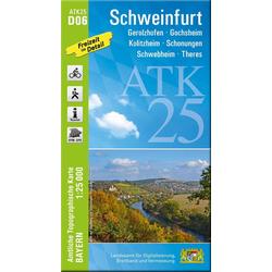 Schweinfurt 1 : 25.000