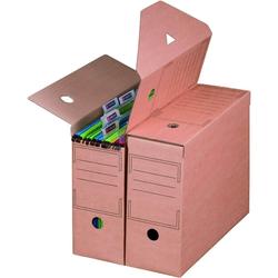 Archivbox für Hängemappen 328 x 115 x 239 mm Braun