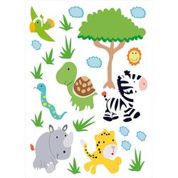 """Tierisch lustige Wandtattoos fürs Kinderzimmer """"Südafrika"""""""