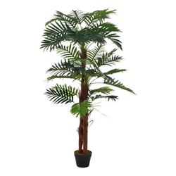 Kunstpflanze vidaXL Künstliche Pflanze Palme Kunstpflanze Deko Topfpflanze, vidaXL, Höhe 165 cm 165 cm