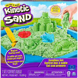 Kinetic Sand Box grün