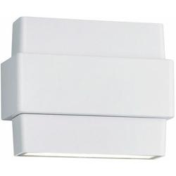 TRIO Leuchten LED Außen-Wandleuchte PADMA, UP and DOWN Beleuchtung weiß