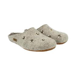Haflinger Api Pantoffeln Pantoffel grau 38