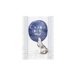 CEBA BABY Wickelauflage 2 Keil 70 x 50 cm Wickelunterlage, Weiche Wickeltischauflage Abwaschbar weiß