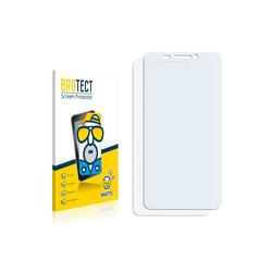 BROTECT Schutzfolie für Bouygues Telecom BS 471, (2 Stück), Folie Schutzfolie matt entspiegelt