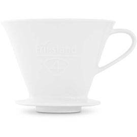 FRIESLAND Porzelan Kaffeefilter Gr.4 weiß