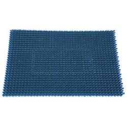 miltex Fußmatte StepIn metallicblau