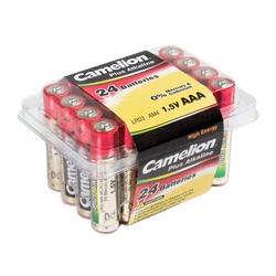 Camelion Plus Alkaline LR03 AAA Micro  (24er Box), 1,5V, Alkaline