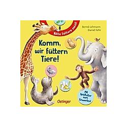 Komm  wir füttern Tiere!. Daniel Fehr  - Buch