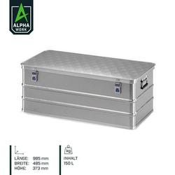 Alpha Work Box aus Strukturblech 985 x 485 x 373 mm 150 l 08304