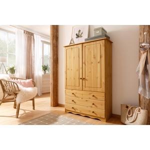 Home affaire Wäscheschrank Minik beige Drehtürenschränke Kleiderschränke Schränke
