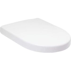 Villeroy&Boch Subway Toilettendeckel weiß alpin, mit Absenkautomatik, aus Duroplast, Klodeckel, Toilettensitz - 9M55S101