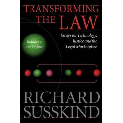 Transforming the Law als Buch von Richard Susskind