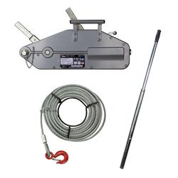 Handseilwinde / Seilwinde 1,6 Tonnen 20m Seil Seilzug