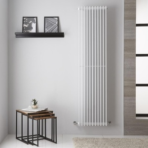 Design Paneelheizkörper Weiß 1428W 1800mm x 445mm - Roma