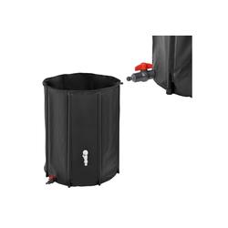 casa.pro Wassertank, Regentonne 500L Regenwassertank Regenwasserspeichern Regenwasserfass Zisterne Ø 80 cm x 98 cm