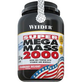 WEIDER Mega Mass 2000 Erdbeere Pulver 1500 g