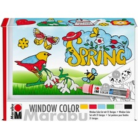 "Marabu Window Color Set ""Spring Time"", 39 Teile"