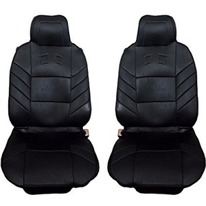 2x Sitzauflagen vordere Auto Sitzaufleger Schwarz Autositzauflage Autositz Schutz