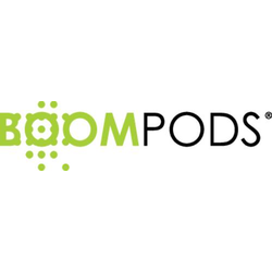 Boompods Digibuds HiFi In Ear Kopfhörer In Ear Headset, Lautstärkeregelung Roségold