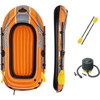 """BESTWAY Bestway® Unisex Jugend 6'5"""" x 45""""/1.96m x 1.14m Kondor 2000 Set Boote, orange"""