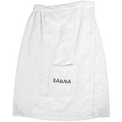 Sarong Opal, Dyckhoff, mit Sauna-Schriftzug weiß