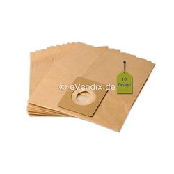 eVendix Staubsaugerbeutel 10 Staubsaugerbeutel Staubbeutel passend für Staubsauger Topclean SE 8520, passend für Topclean