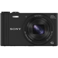 Sony Cyber-shot DSC-WX350 schwarz