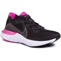 Nike Renew Run W black/white/fire pink/metallic dark grey 39