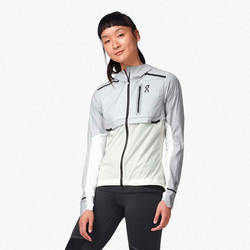 ON Damen Weather Jacket Laufjacke - Grey
