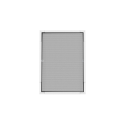 Insektenschutzplissee Nematek® Pro Teleskop Insektenschutz Fenster 120 x 140cm, Nematek weiß
