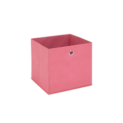 Aufbewahrungsbox in pink, 32 x 32 cm