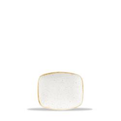 12 x Platte 15,4x12,6cm No. 5 STONECAST barley white