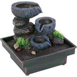 Zimmerbrunnen »Floating Stones«, Dekoratives, 579024-0 grau grau