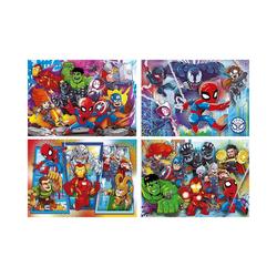 Clementoni® Puzzle Puzzle 2 x 20 + 2 x 60 Teile Supercolor -, Puzzleteile