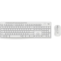 Tastatur RF Wireless QWERTY UK International Weiß