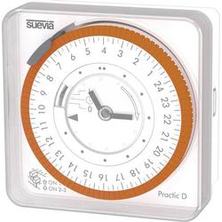 Suevia Practic D Aufputz-Zeitschaltuhr analog 230 V/AC 16 A/230V
