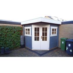 5-Eck Garten- und Gerätehaus Noah, ohne Imprägnierung
