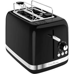 Moulinex Toaster Moulinex LT3018 Soleil Toaster 850 Watt schwarz
