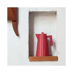 Alessi Wasserkocher Wasserkocher Plissé 1.7 L - Farbwahl, 1700 l rot