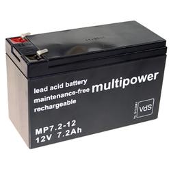 Blei-Akku Multipower MP7.2-12, 12 Volt, 7,2 Ah
