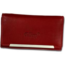 DrachenLeder Geldbörse OPR702X DrachenLeder RFID Blocker Echtleder, Jugend, Damen Geldbörse aus Echtleder in rot rot