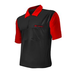 Target Cool Play Hybrid 2 Shirt Black & Red S