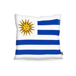 Kissenbezug, VOID, Uruguay Polyester Flagge Fahne Fan-WM Fussball 80 cm x 80 cm