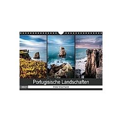 Portugisische Landschaften (Wandkalender 2021 DIN A4 quer) - Kalender