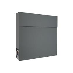 MOCAVI Briefkasten MOCAVI Box 530 Design-Briefkasten basalt-grau (RAL 7012)