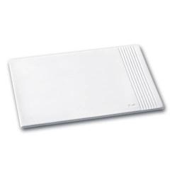 Mousepad La Linea Leder weiß