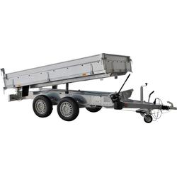 STEMA PKW-Anhänger Rückwärtskipper 2,7 t, max. 2000 kg, inkl. elektrischer Hydraulik