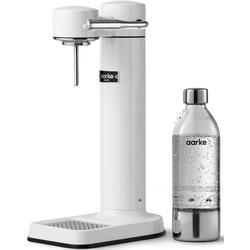 Aarke Wassersprudler Carbonator 3, (Set, 3-tlg., Carbonator 3, PET-Flasche, Reinigungstuch) weiß